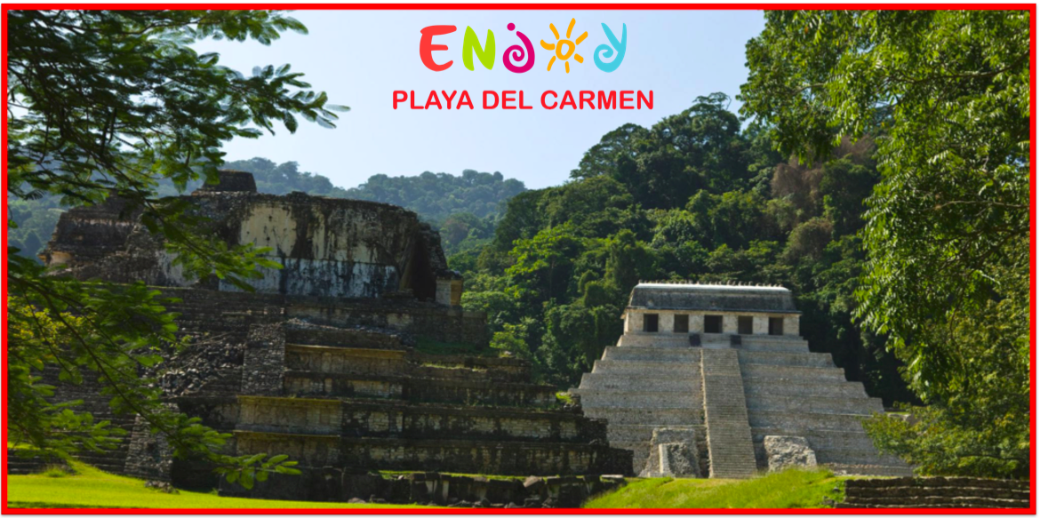 Palenque: The Hidden Mayan City of Jungle - Playa de Carmen ENJOY - Mayan Ruin
