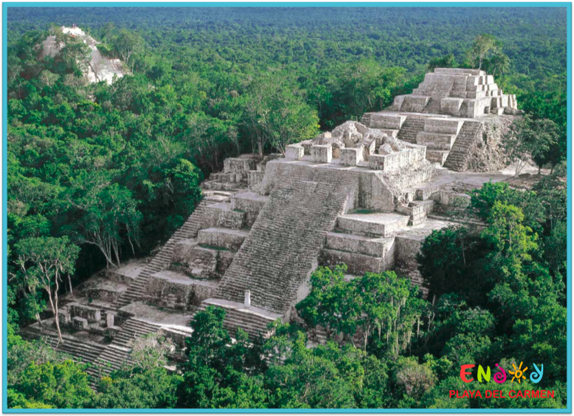 Calakmul: The Ancient Mayan Town of Snakes - Mayan Ruin